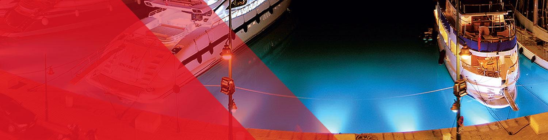 underwater light slider automation